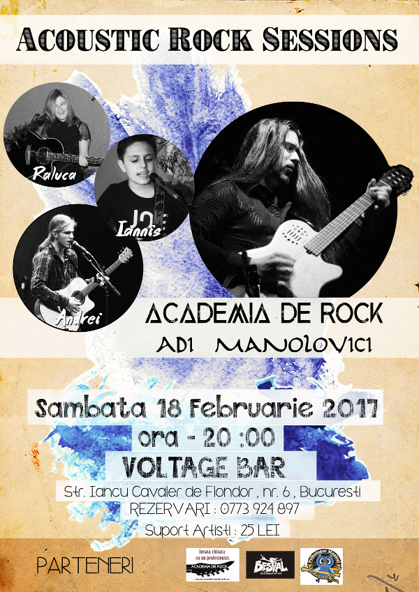 Voltage - Acoustic Rock Sessions